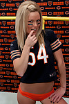 The bears need a new qb and madden could be what they need as she dresses as sex