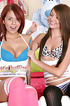 Cassandra nix and madelyn monroe at teenfidelity