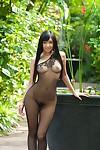 Japanes hotty nana ogura in bodystockings