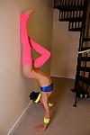 Agile juvenile hawt brandi hawt workout
