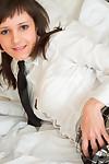 Schoolgirl attains drilled anally