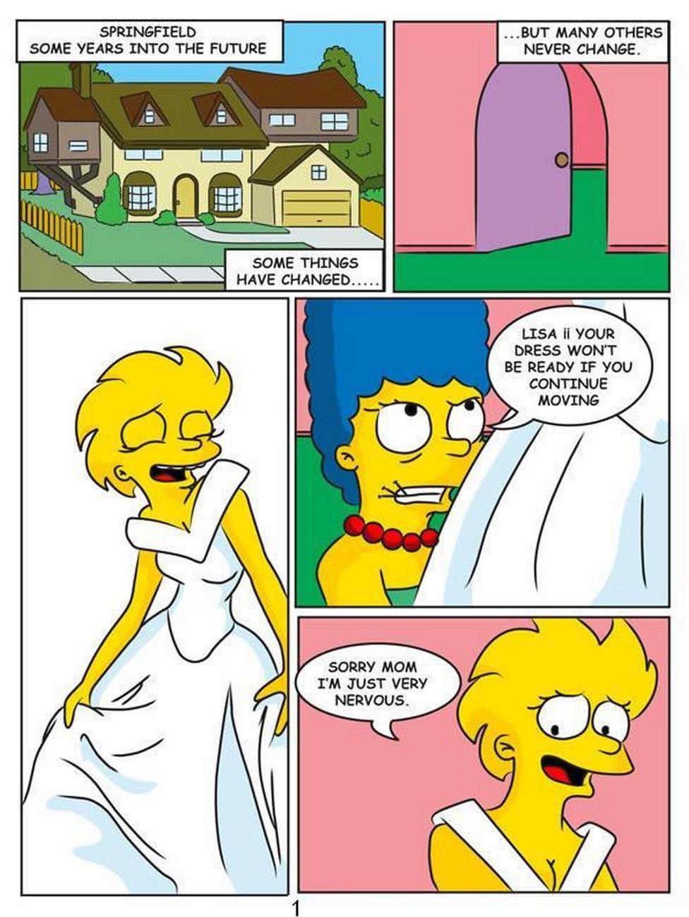 порно комиксы симпсоны мэгги и лиза